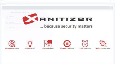 Watch a fast-track demonstration of Xanitizer.