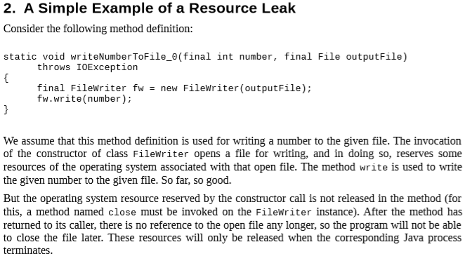 Read about how you can find resource leaks with Xanitizer and fix them.